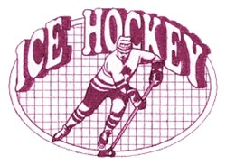 IHockey Quilt embroidery design