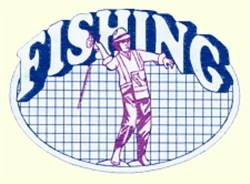 Fishing Quilt embroidery design