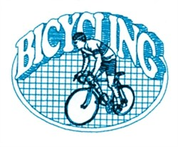 Bicycling  Quilt embroidery design