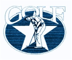 Golf Star embroidery design