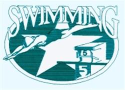 Female Swim Star embroidery design