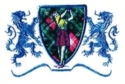 Ladies Golf Crest embroidery design