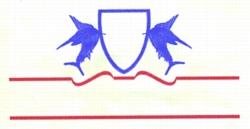 Sailfish Crest embroidery design