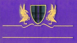 Drake Crest embroidery design