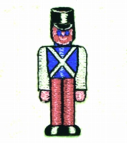 Wooden Soldier embroidery design