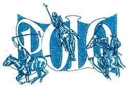 Polo Trio embroidery design