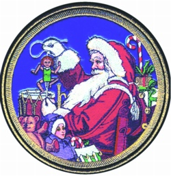Santas Shop embroidery design