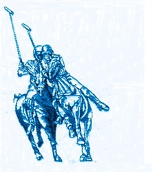 Polo Riders embroidery design