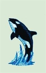 Killer Whale embroidery design