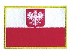 Polish Flag embroidery design