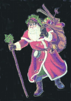 Old St. Nick embroidery design