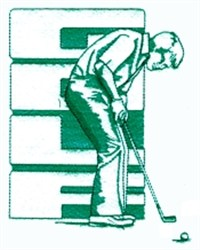Golf Putting embroidery design