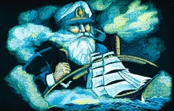 Old Sailor embroidery design