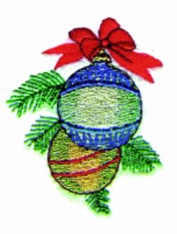 Ornaments embroidery design