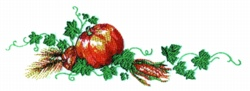 Harvest Bounty embroidery design