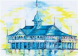 Balboa Pavilion embroidery design
