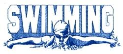 Swimming Swimmer embroidery design