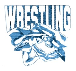 Wrestling Wrestlers embroidery design