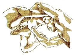 Wrestling Hold embroidery design