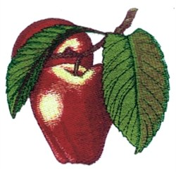 Apples Branch embroidery design