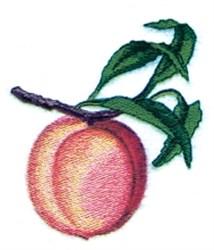 Peach Branch embroidery design