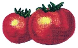 Shiny Tomatoes embroidery design