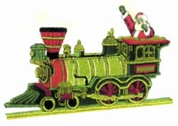 Train Applique embroidery design