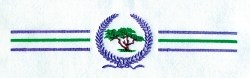 Cyprus Laural Border embroidery design