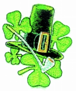 St. Pattys  Hat embroidery design