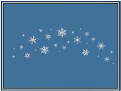 Snowflake Sprinkles embroidery design