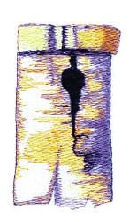Birch Birdhouse embroidery design