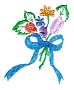 Floral Cluster embroidery design