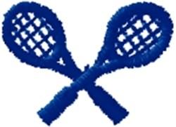 Tennis Raquets embroidery design