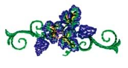 Vineyard Element embroidery design