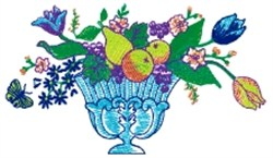 Fruit & Flowers embroidery design