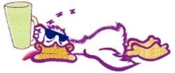 Drunken Duck embroidery design