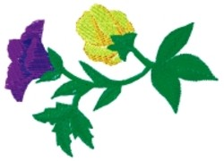 Spring Floral embroidery design