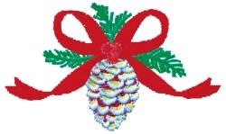 Pine Cone Centerpiece embroidery design