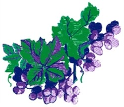 Grape Bunches embroidery design