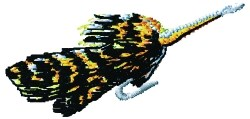 Cockroach Lure embroidery design