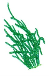 Seaweed embroidery design