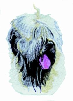 Wheaten Terrier embroidery design