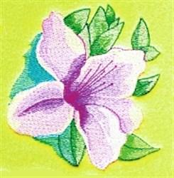 Azalea embroidery design