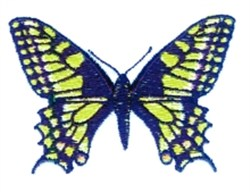 Swallowtail Butterfly embroidery design