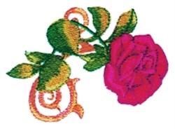 Rose Filigree embroidery design