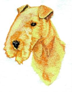 Lakeland Terrier embroidery design