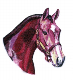 Young Hunter embroidery design