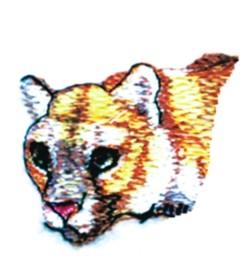 Mt. Lion Head embroidery design