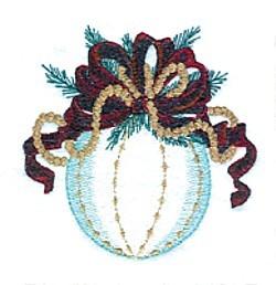 Ornament embroidery design