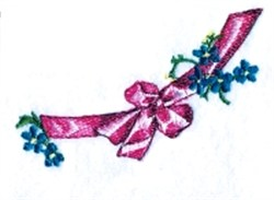 Easter Ribbon embroidery design
